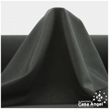 TELA LYCRA LISA BRILLANTE NEGRO 150cm