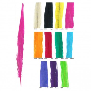 PLUMAS TURKEY COLORES 33cm