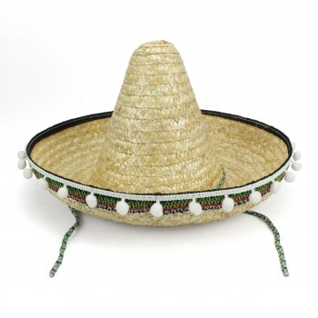 SOMBRERO MEXICANO INFANTIL COLOR NATURAL