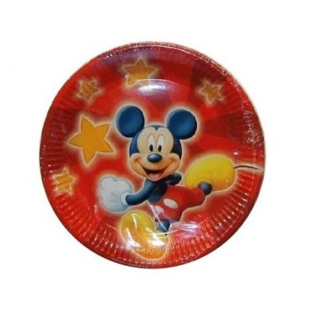 PLATOS DESECHABLES MICKEY MOUSE