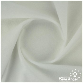 TELA ANTELINA LISA COLOR BLANCO 150cm
