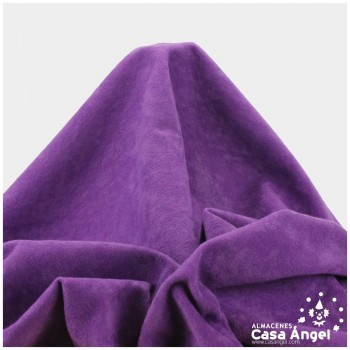 TELA ANTELINA LISA COLOR MORADO 150cm