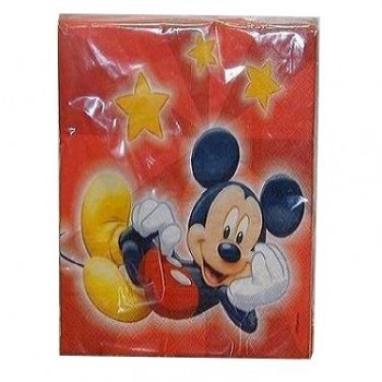 SERVILLETAS MICKEY MOUSE