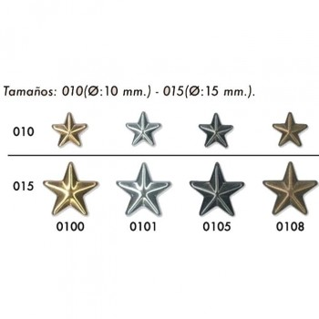 TACHA ESTRELLA 15mm