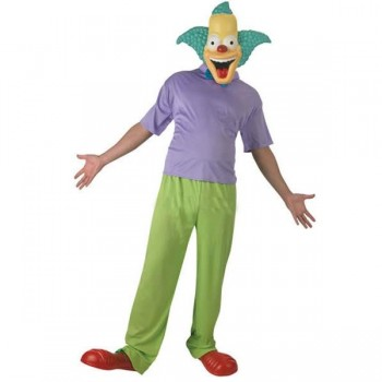DISFRAZ KRUSTY THE CLOWN ADULTO