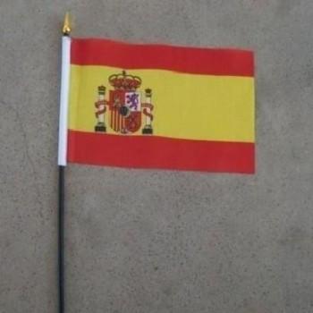 BANDERA ESPAÑA CON PALO 20cm
