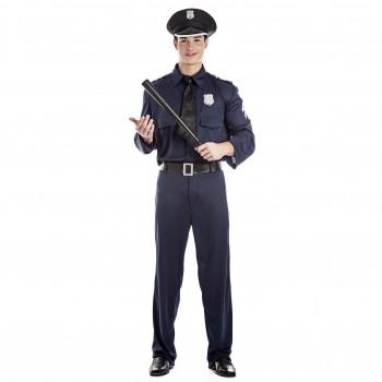 DISFRAZ DE POLICÍA HOMBRE ADULTO