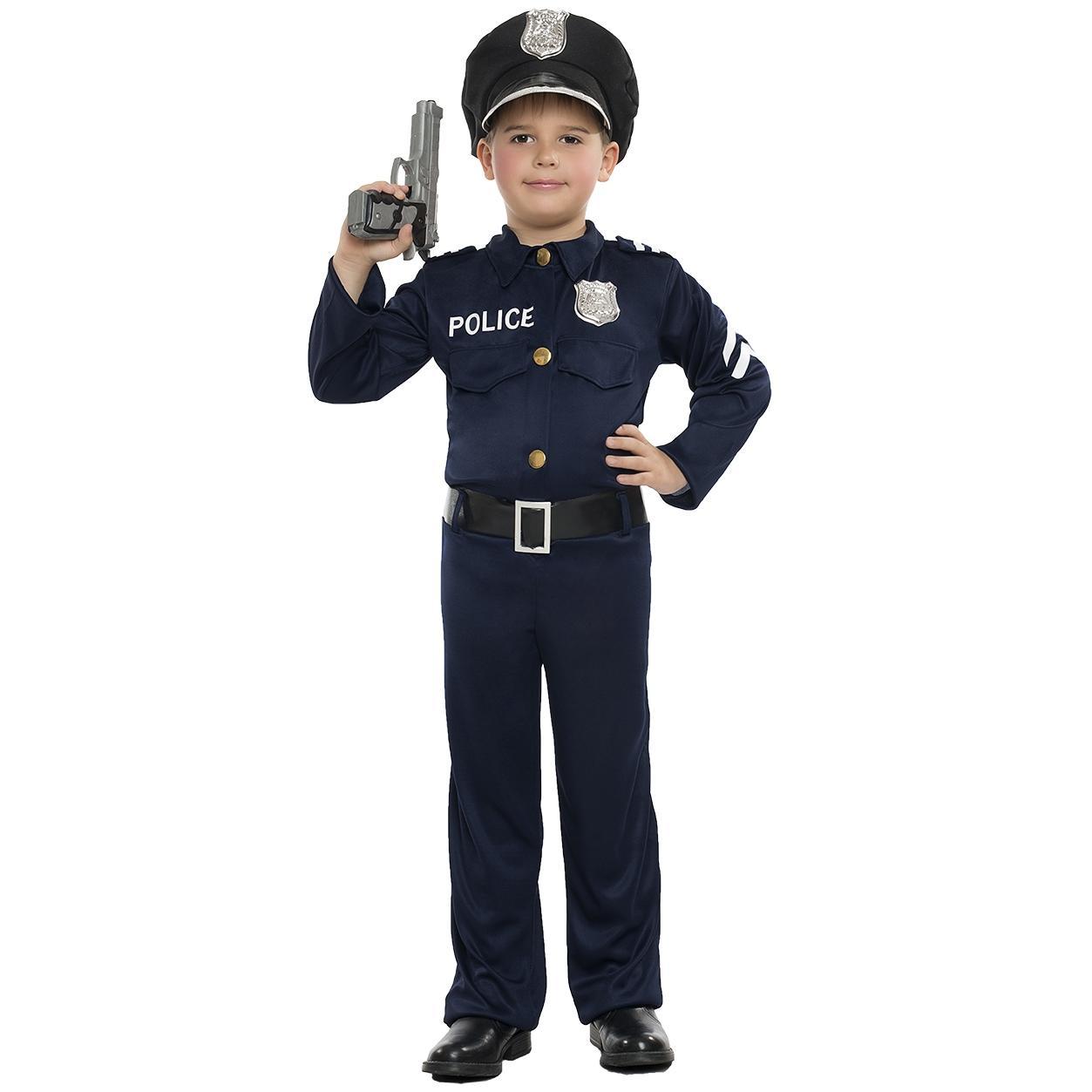 DISFRAZ DE POLICÍA NIÑO INFANTIL