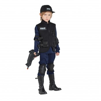 DISFRAZ POLICÍA SWAT INFANTIL