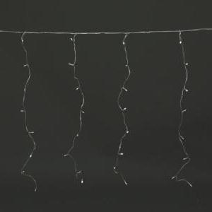 CORTINA LUCES LED BLANCO EFECTO LLUVIA 6m