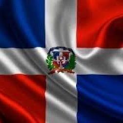 BANDERA REPÚBLICA DOMINICANA ANCHO 150cm
