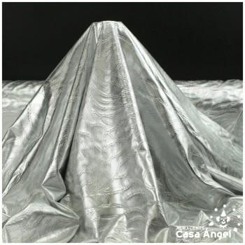 LYCRA TERMOESTAMPADA EN RELIEVE PLATA SERIE SPOCK 150cm